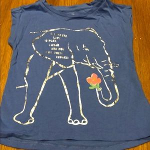 Gap Toddler Girl Elephant T-Shirt